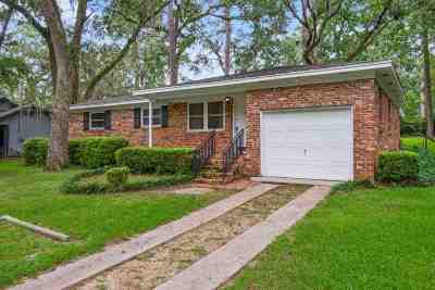 tallahassee Single Family Home For Sale: 2906 N Meridian Road