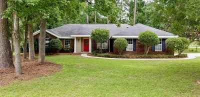 tallahassee Single Family Home For Sale: 2010 Heather Brook Drive