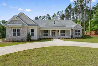 Tallahassee Single Family Home For Sale: 2831 W Hannon Hill Drive