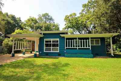 tallahassee Single Family Home For Sale: 1813 Jackson Bluff Road