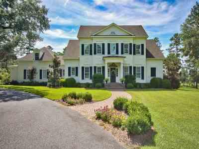 tallahassee Single Family Home For Sale: 6569 Lake Pisgah Drive