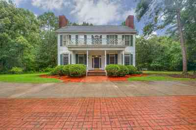 Tallahassee Single Family Home Contingent: 169 Rosehill Drive
