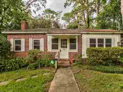 tallahassee Single Family Home For Sale: 810 E Brevard Street