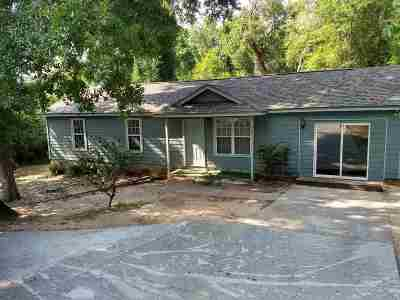 tallahassee Single Family Home For Sale: 1207 Ridge Road