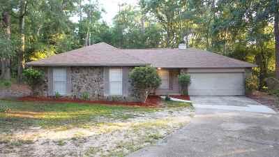 tallahassee Single Family Home For Sale: 1640 Flint Ridge Lane