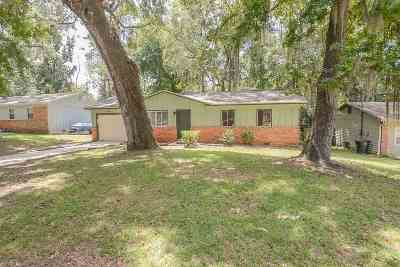 tallahassee Single Family Home For Sale: 4016 Scarlett Drive