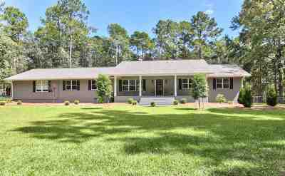 Tallahassee Single Family Home For Sale: 6996 McBride Point