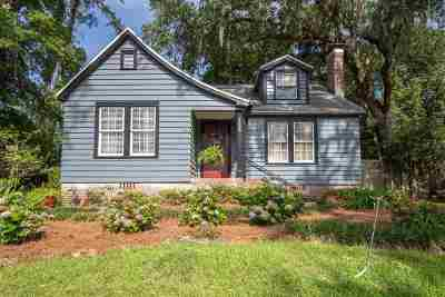 tallahassee Single Family Home For Sale: 1522 Grape Street