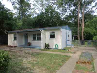 tallahassee Single Family Home For Sale: 3101 S Meridian Street