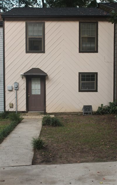 tallahassee Condo/Townhouse For Sale: 3113 Pontiac Drive