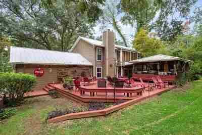 Tallahassee Single Family Home For Sale: 9914 Waters Meet Drive