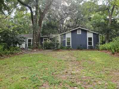 tallahassee Single Family Home For Sale: 1064 Longstreet