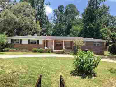 Tallahassee Single Family Home New: 2146 Armistead Road