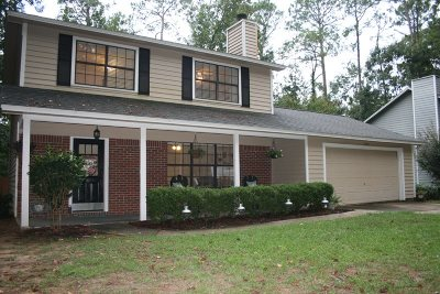 Tallahassee Single Family Home New: 2308 Tuscavilla Road
