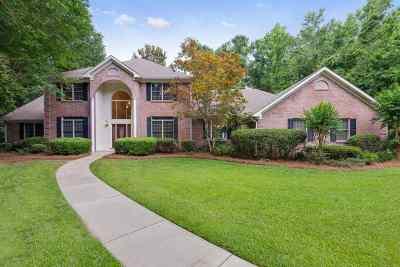 Tallahassee Single Family Home New: 3705 Bobbin Brook Circle