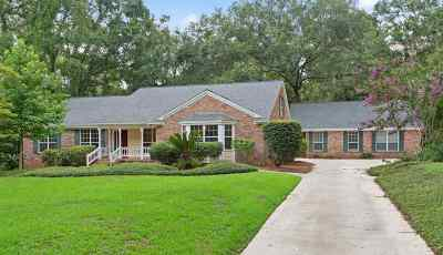 Tallahassee Single Family Home New: 3628 Pine Tip Road