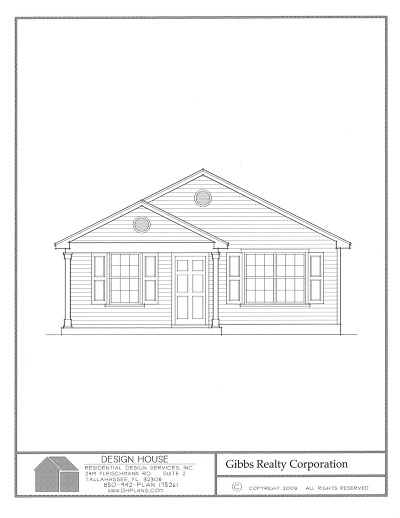 Tallahassee Single Family Home New: Lot 3b Griffin Street