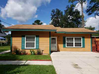 Tallahassee Single Family Home New: 3120 Rackley Drive
