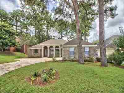 Tallahassee Single Family Home New: 836 Eagle View Drive