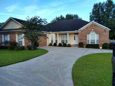 Tallahassee Single Family Home New: 1104 Dreamcatcher Ct