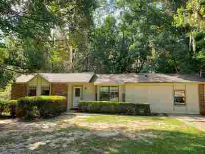 tallahassee Single Family Home For Sale: 3615 Hood Court