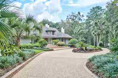 tallahassee Single Family Home New: 3725 Bobbin Mill Road