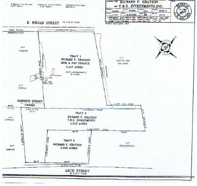 Athens Residential Lots & Land Active Active: 1669 E Broad St