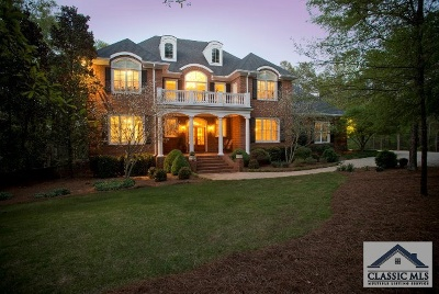 Athens GA Single Family Home Active Active: $990,000