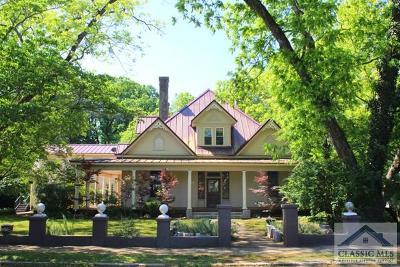 Athens Single Family Home Active Active: 527 Oglethorpe Avenue