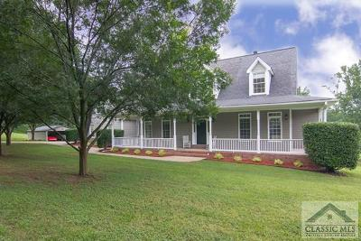 Oglethorpe County Single Family Home Active Active: 1012 Wolfskin Road