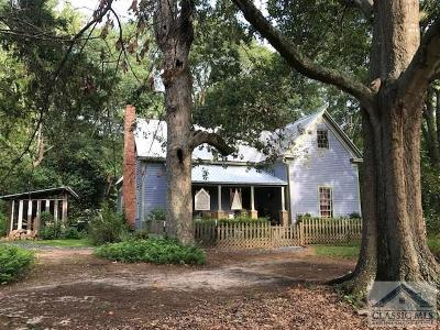 Watkinsville GA Single Family Home Active Active: $270,000