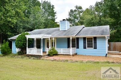 Watkinsville GA Single Family Home Active Active: $142,000