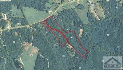 Oglethorpe County Residential Lots & Land Active Active: 282 Watson Mill Rd.