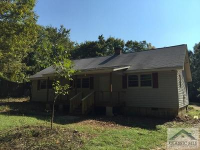Athens Multi Family Home Active Active: 1350 Danielsville Road