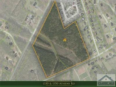 Residential Lots & Land Active Active: 1330 Athens Road