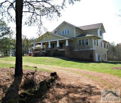 Oglethorpe County Single Family Home Active Active: 43 Blackthorn Lane