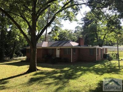 Athens Single Family Home Active Active: 1620 S Milledge Ave