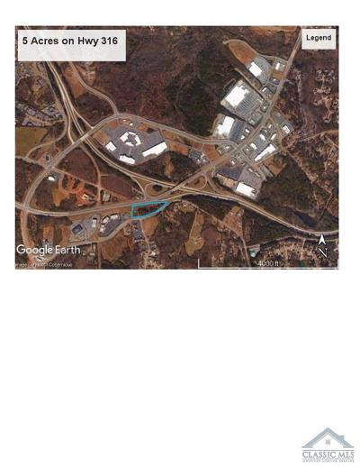Athens GA Residential Lots & Land Active Active: $3,000,000