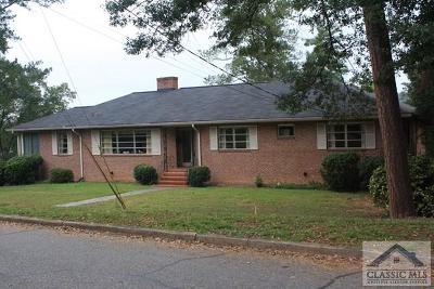 Athens Single Family Home Active Active: 192 Fortson Drive