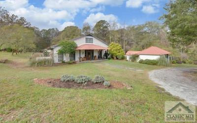 Oconee County Single Family Home Active Active: 2180 Oliver Bridge Road