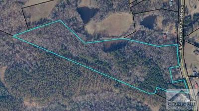 Oglethorpe County Residential Lots & Land Active Active: Crawford Smithonia Road