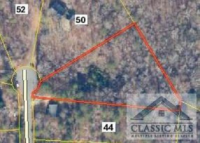 Oglethorpe County Residential Lots & Land Active Active: Creek Ridge