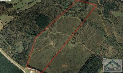 Oglethorpe County Residential Lots & Land Active Active: Wallace Meyer Road