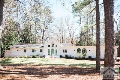 Athens Single Family Home Active Active: 590 Fortson Road