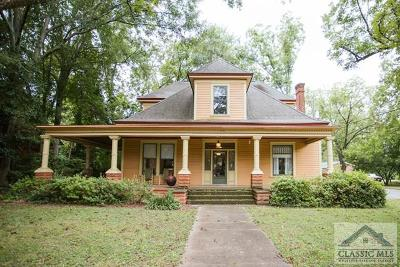 Athens Single Family Home Active Active: 295 Oglethorpe Avenue