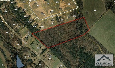 Colbert GA Residential Lots & Land Active Active: $46,400
