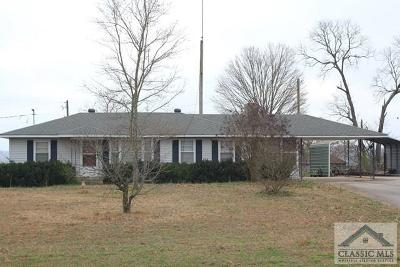 Madison County Single Family Home Active Active: 3794 Highway 106 N