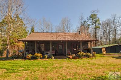 Oconee County Single Family Home Active Active: 4566 Greensboro Hwy