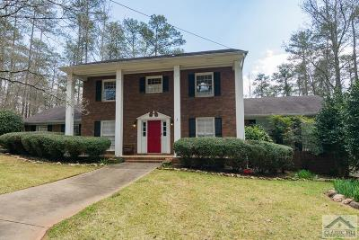 Athens Single Family Home Active Active: 185 Featherwood Hollow