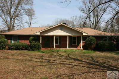 Colbert GA Single Family Home Active Active: $175,000